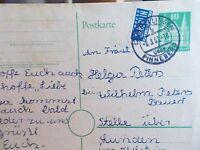 PK Rellingen über Pinneberg 5.3.1953 mit Notopfer Berlin