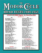 Floyd Clymer MOTORCYCLE ROAD TESTS 1949-1953 (From the Motor Cycle magazine UK)