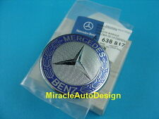 Authentic Mercedes Flat Classic Star Bonnet Emblem Set For All Mercedes Benz