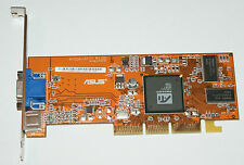 Asus ATI A7000 AGP graphics card 64 mb