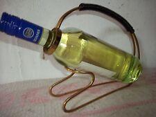 Alter Flaschenträger-Flaschenhalter-Messingbügel um 1960