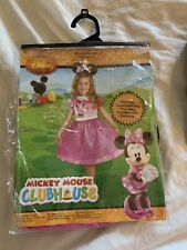 Disney Minnie Mouse Costume Girls size small 4-6