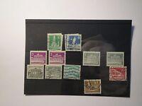 Konvolut Briefmarken - Deutsche Post / Bundespost - Berlin Notopfer - 40 Marken