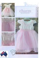 New born Baby girl Tutu fairy princess party Christmas Dress 0-2years