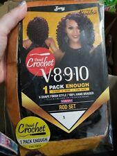 "Zury Naturali Star Crochet Braid V8910  rod set 8"",9"",10"" color 1"