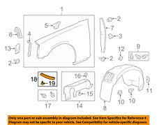 Chevrolet GM OEM 12-15 Camaro Fender-Deflector Panel 22757643