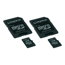 2-Pack Kingston microSD Flash Card 2 GB Standard for Camera Tablet Phone SDC/2GB