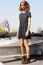 """NWOT ISABEL MARANT ETOILE """"Jabeth"""" Silk Ruffle Tier Dress SZ 1 $580"""