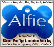 PET ID Tags DOG CAT Puppy Kitten CHEAPEST Name Disc Personalised DEEP ENGRAVING!