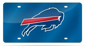 Buffalo Bills NFL Blue Laser Tag License Plate