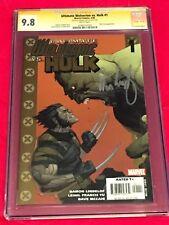 ULTIMATE WOLVERINE VS HULK #1 CGC 9.8 SS Signed DAMON LINDELOF Yu Nick Fury 2006