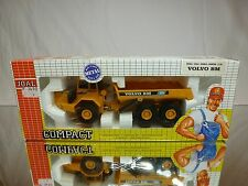 JOAL 238 VOLVO BM A35 6x6 ARTICULATED DUMPTRUCK - YELLOW 1:50 - GOOD IN BOX
