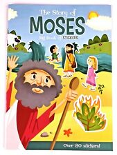 The Story of Moses Big Book of Stickers Sticker Book Christian Activity Bible