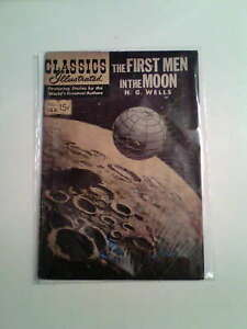 Classics Illustrated # 144 The first Men in The moon 1958