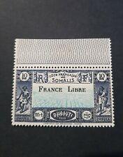 TIMBRE FRANCE COLONIE COTE DE SOMALIE N°231 NEUF ** LUXE MNH 1942 COTE 276,00€