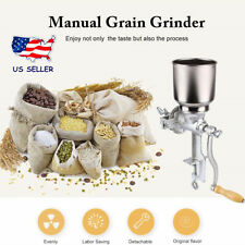 Hand Operated Manual Mill Grain Seeds Mill Nut Grinder Spice Grinder Cast Iron
