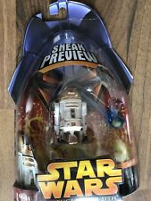 "2005 Star Wars Revenge of The Sith~Sneak Preview~MOC 3"" R4-G9 Droid Figure"