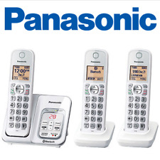 Panasonic KX-TG833 SK1 Link2Cell Voice Assist Answering Machine 3 Handsets