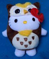SANRIO HELLO KITTY DRESS AS BROWN OWL MCDONALD PLUSH DOLL SOFT TOY