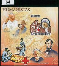 Sao Tome & Principe Sheets Cross Postal Stamps