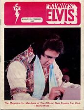 Elvis Presley Fan Club Magazine Aug/Sept 1980