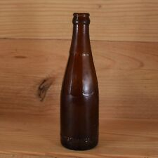 Vintage CHICAGO CONSOLIDATED BOTTLING CO. Amber Beer Soda Bottle GEORGE LOMAX