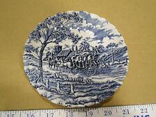 Vintage Myott Royal Mail Fine Staffordshire Ware Cobalt Blue Tea Cup Saucer, EUC