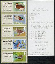 Wincor aves de tipo II 3 III coleccionista tira de 5 SG FS16-20 Post & Go