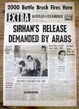 <3 1970 headline newpapers ARAB HIJACKING n JORDON Palestinians blow up airplane