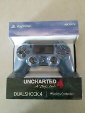 Uncharted 4 Sony PlayStation 4 PS4 DualShock 4 Controller (Blue) New/sealed