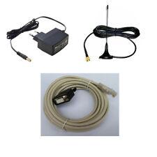 KIT PER PDA MINI ANTENNA GSM CON SMA - ALIMENTATORE 5V 2A - CAVO RJ45 DB9 DR FEM
