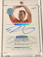 2013-14 Flawless BLAKE GRIFFIN All Star Achievements AUTO AUTOGRAPH 1/1 1 OF 1