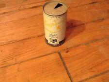 vintage Kingsbury Light tab top steel beer can Pull