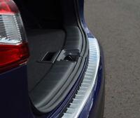 For Nissan Qashqai (2014-17) - Chrome Rear Bumper Protector Scratch Guard Steel
