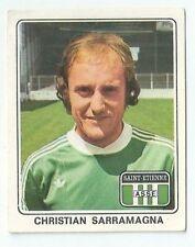Panini La vache qui rit Champions Football Christian Sarramagna Saint Etienne