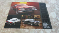1978 Dodge Magnum/Monaco/Charger/Colt/Challenger Vintage OEM Sales Brochure   B1