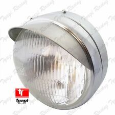 "NEW ROYAL ENFIELD CLASSIC UCE MODEL 7"" COMPLETE HEAD LIGHT WITH PEAK 5114NM"