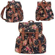 Hübscher Rucksack Tasche mit Rosen   29 x 11 x 34 cm Clayre & Eef BAG206