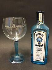 Bombay Sapphire Gin Set + Ballon Glas 0,7 L Litre Flasche 40%Vol.