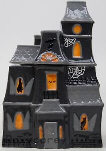 Martha Stewart Halloween Haunted House Spooky Scary Cookie Jar NIB