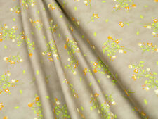 Baumwoll Stoff Moda Sundrops 29011 24 Floral Blossoms Tan Quilt Stoff • 0,5m