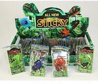 24x Sticky Figuren Schleim Glibber Klebe Monster Schleimfiguren Mitgebsel 5cm