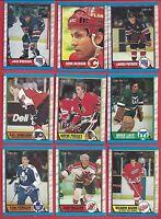 1989-90 O-Pee-Chee Hockey you pick 12 picks $2.00 NM to Mint