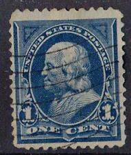 US 1894 Scott # 246 Benjamin Franklin 1 Cent Ultramarine STAMP