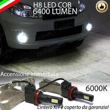 KIT FULL LED DAIHATSU TERIOS II LAMPADE H8 FENDINEBBIA CANBUS 6400 LUMEN 6000K