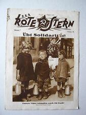 """""""Der Rote Stern"""" August 1926  Nr 16_Illustrierte Arbeiterzeitung der KPD"""