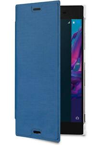 Roxfit Premium Book Case for Sony Xperia XZs and XZ (Blue)