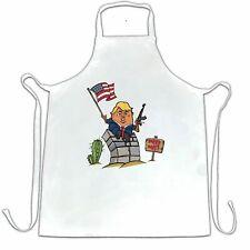 Novelty Chef's Apron Trumpty Dumpty Built A Big Wall Joke President Trump USA