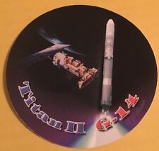 NASA TITAN II G-14 DECAL Titan 2