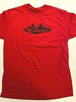 Columbia New Classic Mountain Logo Graphic T-Shirt Men's XL